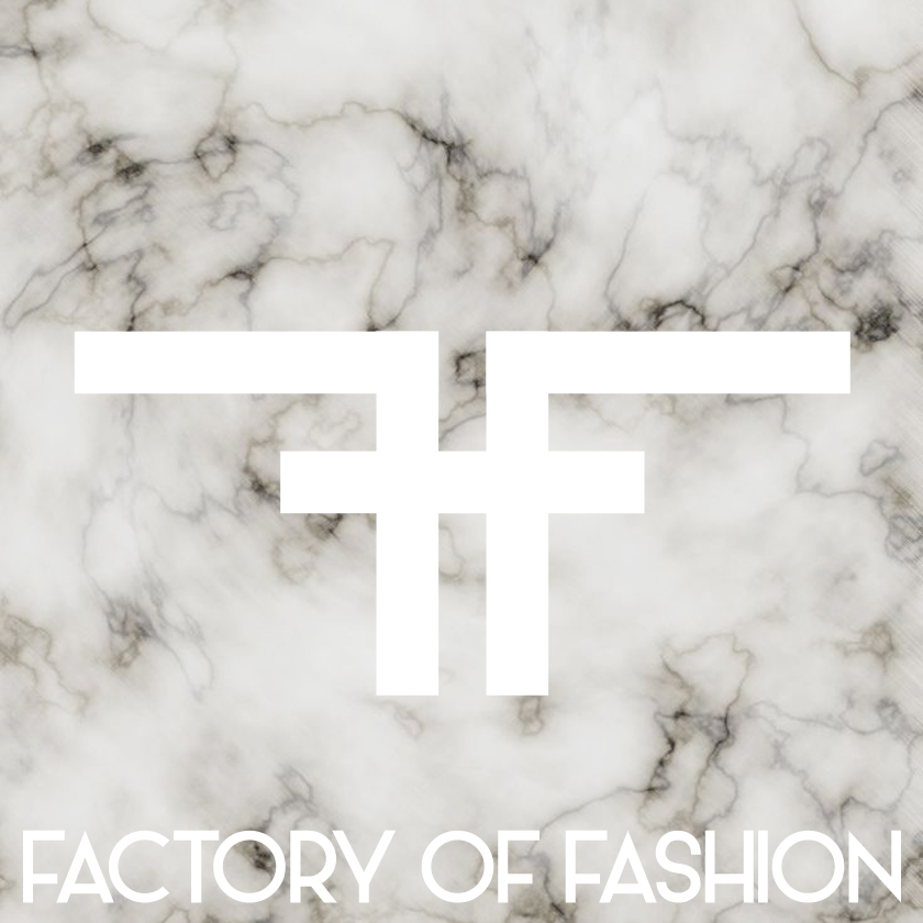 FACTORY OF FASHION marble logo