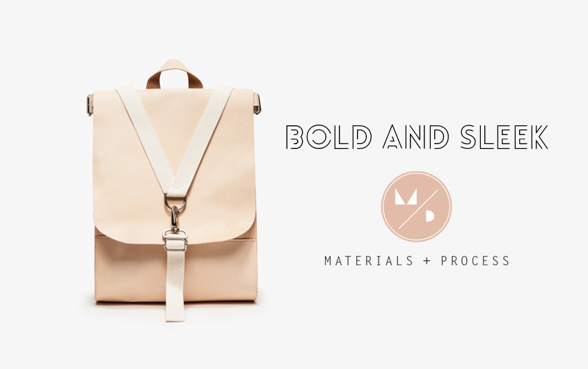 SLEEK AND BOLD - MATERIALS AND PROCESS - BACK TO SCHOOL - FACTORY OF FASHION