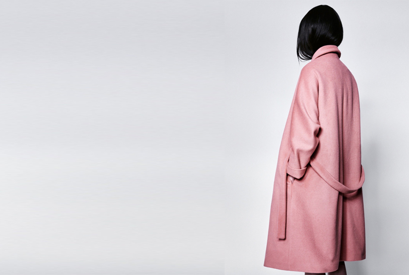 Samuji pink coat - factory of fashion