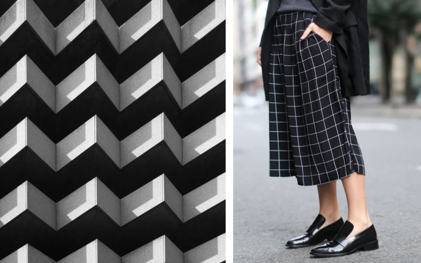 grid in fashion adn architecture - FactoryofFashion