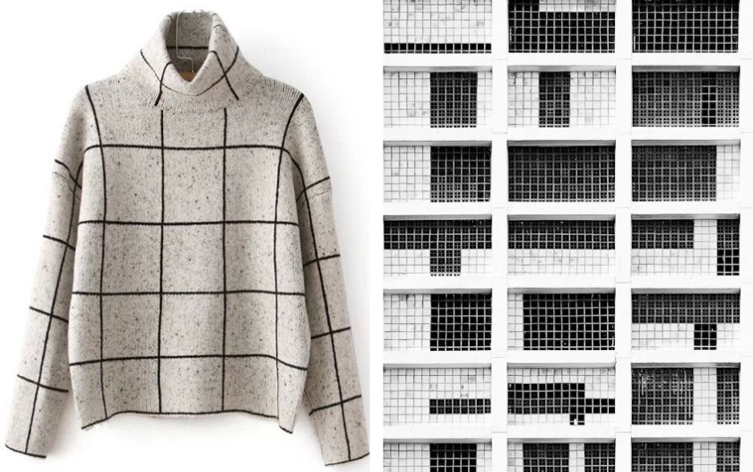 grid in fashion and architecture-Factory of Fashion